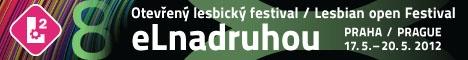 Otevřený lesbický festival eLnadruhou 17. - 20. 5. 2012 Praha